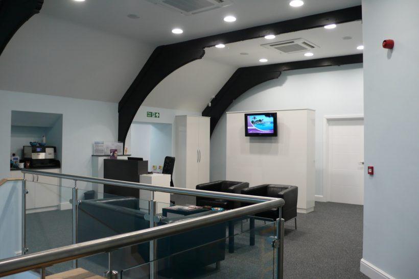 A G Marshall Optometrists, First floor waiting