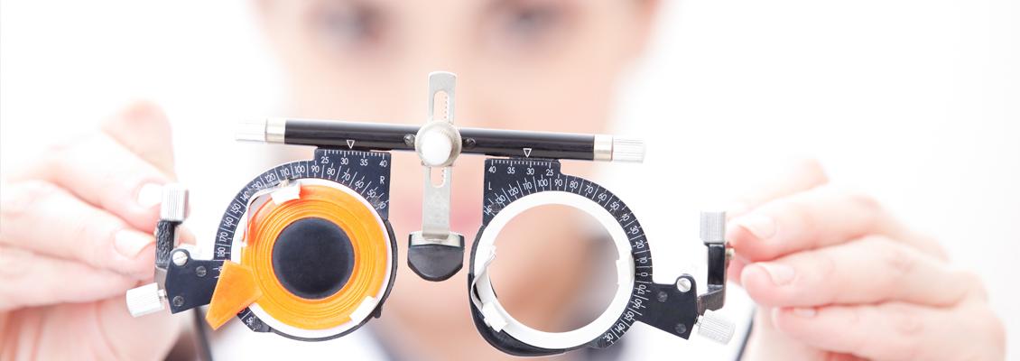 Eye examination in Cramlington