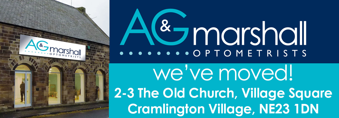 A & G Marshall Optometrists have moved to new premises