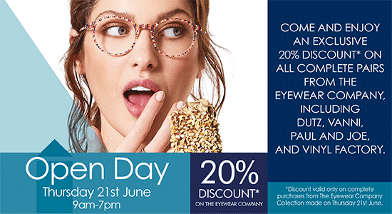 Open day at A&G Marshall Optometrists